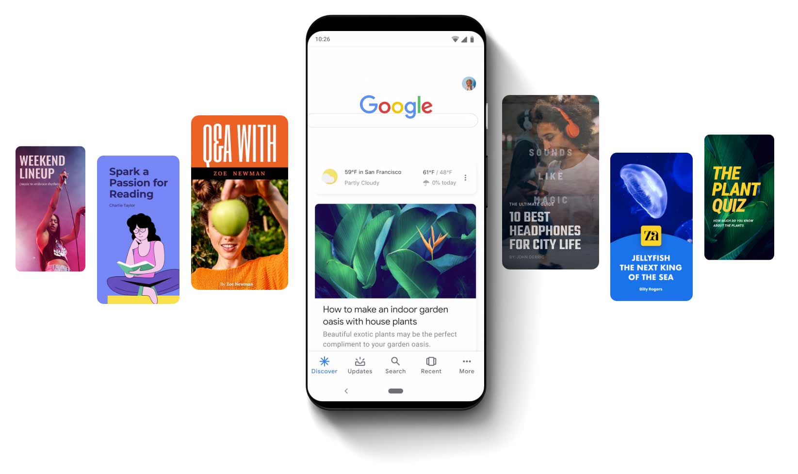 Google web stories hero image